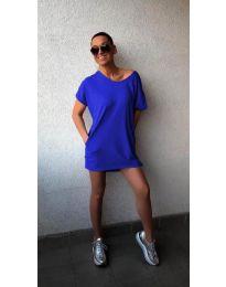 Haljina - kod 3080 - tamno plava