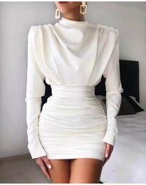 Haljina - kod 8257 - bijela