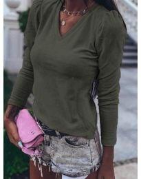 Bluza - kod 0755 - maslinasto zelena