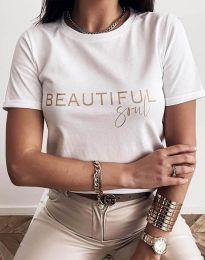 Majica - kod 2284 - bijela