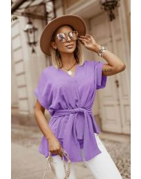 Bluza - kod 3070 - ljubičasta