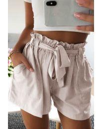 Kratke hlače - kod 3637 - bež