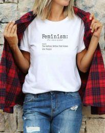 Majica - kod 0272 - bijela