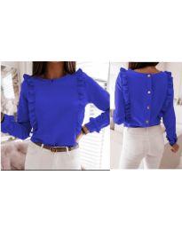 Bluza - kod 4171 - tamno plava