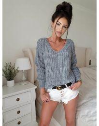 Bluza - kod 8768 - siva