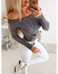 Bluza - kod 3572 - siva
