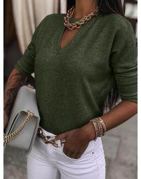 Bluza - kod 8059 - maslinasto zelena