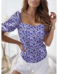 Bluza - kod 9897 - tamno plava