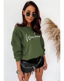 Bluza - kod 917 - maslinasto zelena
