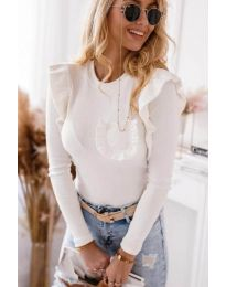 Bluza - kod 1454 - 2 - bijela