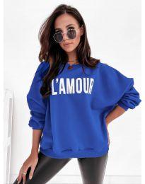 Bluza - kod 2869 - plava