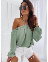 Ženska bluza u boji mente - kod 6561
