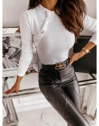 Bluza - kod 41788 - bijela