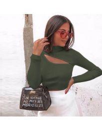 Bluza - kod 919 - maslinasto zelena