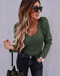 Bluza - kod 394 - maslinasto zelena