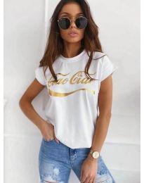Majica - kod 3659 - bijela