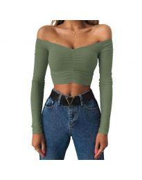 Bluza - kod 4120 - zelena