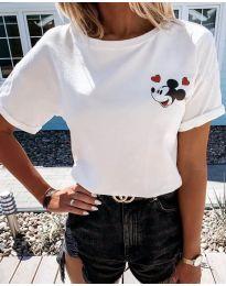 Majica - kod 1189 - bijela