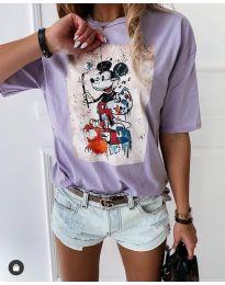 Majica - kod 569 - 4 - svijetlo ljubičasta