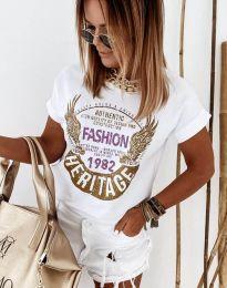 Majica - kod 4658 - bijela