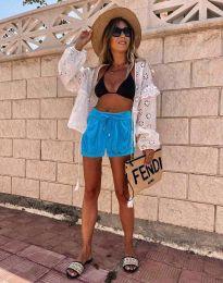 Kratke hlače - kod 6614 - 1 - svijetlo plava
