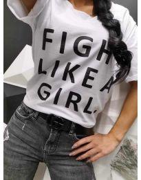 Majica - kod 287 - bijela