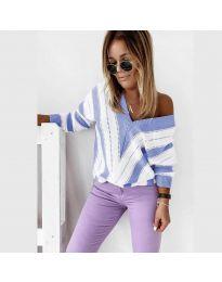 Bluza - kod 0907 - svijetlo plava