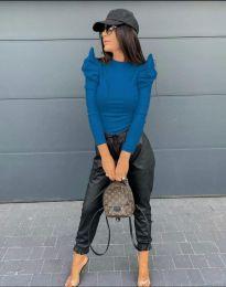 Bluza - kod 2838 - 6 - plava