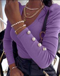 Bluza - kod 2065 - ljubičasta