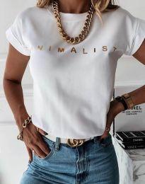 Majica - kod 4078 - bijela