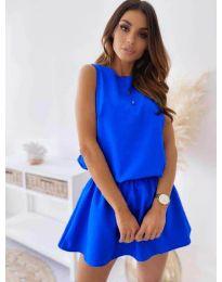 Haljina - kod 477 - plava