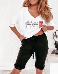 Къси панталонки в черно - код 8256