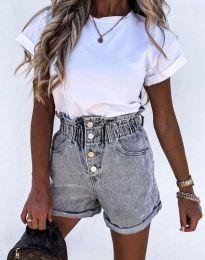 Kratke hlače - kod 5301 - 3 - siva