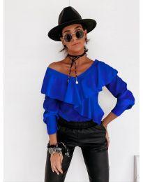 Bluza - kod 6030 - plava