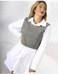 Košulja - kod 9990 - 1 - bijela