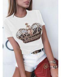 Majica - kod 4648 - bijela