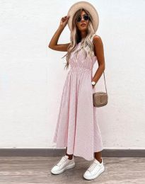 Haljina - kod 2687 - svijetlo ružičasta