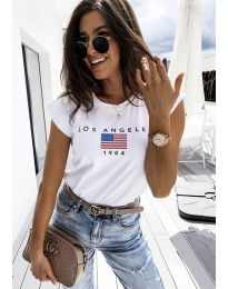 Majica - kod 6336 - 1 - bijela