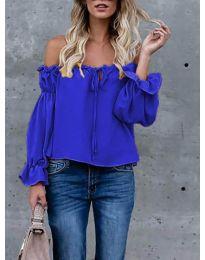 Bluza - kod 5574 - tamno plava