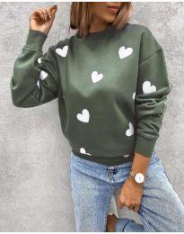 Bluza - kod 3280 - 4 - zelena
