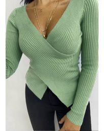 Bluza - kod 6322 - zelena