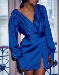 Haljina - kod 5324 - tamno plava