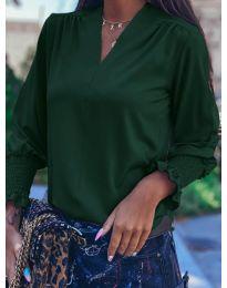 Bluza - kod 4549 - maslinasto zelena