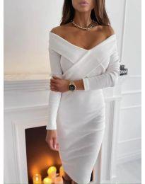 Haljina - kod 6130 - bijela