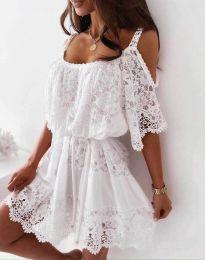 Haljina - kod 6954 - bijela