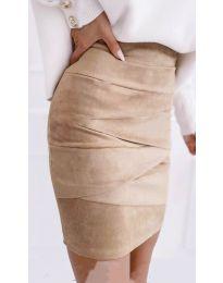 Suknja - kod 7451 - bež