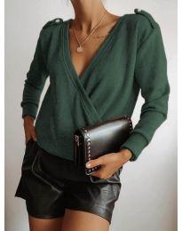 Bluza - kod 294 - tamno zelena