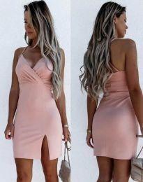 Haljina - kod 8979 - svijetlo ružičasta