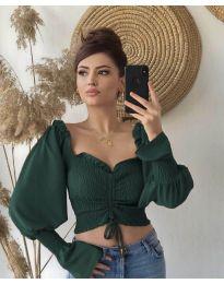 Bluza - kod 896 - maslinasto zelena