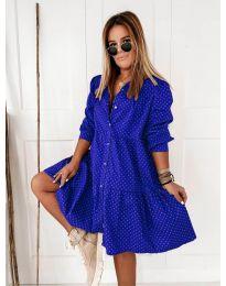 Haljina - kod 5557 - tamno plava